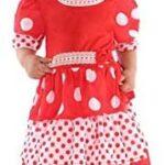 Atosa-57019 Costume Ballerina di Flamenco, Colore Rosso, 6 a 12 Meses, 57019