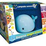 Lisciani CAROTINA Baby Coccole Balena Colore Blu O Rosa A Scelta