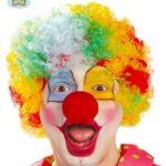 Guirca–Parrucca Boccoli da clown, taglia unica, colore: giallo, 90207