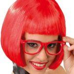 Guirca- Parrucca Caschetto, Colore Rosso, 4940