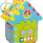 Lisciani Giochi – 76581 Gioco per Bambini Carotina Baby Casetta Mille Attività Educative