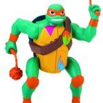 Giochi Preziosi Turtles Rise off Pers. Deluxe Ninja Attack con Suoni, Multicolore, 8056379060512
