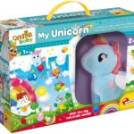 Lisciani Giochi – 76673 Gioco per Bambini Carotina Baby Unicorno Peluche Mega Puzzle