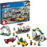 LEGO City Town  –  Gioco per Bambini Stazione di Servizio e Officina, Multicolore, 6251756