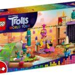 """'LEGO Trolls – L""""Avventura sulla Zattera a Lonesome Flats, con Zattera, Palcoscenico e 3 Minifigure Troll per Ricreare le Scene del Trolls World Tour, Set di Costruzioni per Bambini +4 Anni, 41253'"""