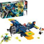 """'LEGO Hidden Side l""""Aereo Acrobatico di El Fuego, Dai la Caccia ai Fantasmi Nella Realtà Aumentata in Modalità Single o Multiplayer, Multicolore, 70429'"""