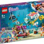 LEGO Friends  –  Gioco per Bambini La Missione di Soccorso dei Delfini, Multicolore, 6251661