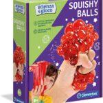 Clementoni – 19145 – Scienza E Gioco – Squishy Balls – Gioco Scientifico Per Bambini 8 Anni – Laboratorio Scientifico Palline – Kit Esperimenti, Italiano, Multicolore