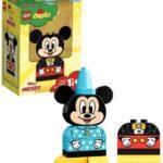 LEGO Duplo Il Mio Primo Topolino con Abiti Interscambiabili e Creare Tante Scene con il Personaggio Disney Preferito dei Bambini, Set di Costruzioni per Bambini +1 1/2, Idea Regalo, 10898 di LEGO