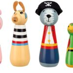 Orange Tree Toys, Animal Pirate Skittles, 36 mths+ di Orange Tree Toys