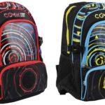 Comix Zaino Sound Wave, Speaker Bluetooth + LED, 45x32x22cm, 3+