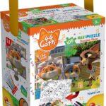 Lisciani Giochi 44 Gatti Puzzle in a Tub Maxi 108 Look At Meow