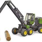 bruder 02135 – John Deere 1270G Harvester con 1 Tronco