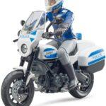 Verdes Bruder 62731 Bworld Scrambler Ducati Moto della Polizia