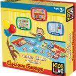 Lisciani Curious George: Lotto Memo Domino Merchandising Ufficiale