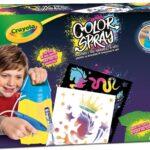 CRAYOLA- Color Spray, Aerografo manuale per trasformare i pennarelli in Arte Spray, 25-7374