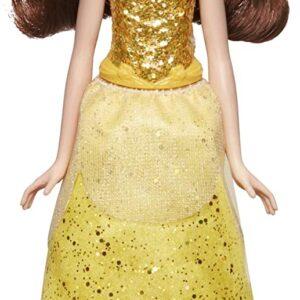 Hasbro Disney Princess- Shimmer Belle Bambola, Multicolore, E4159ES2