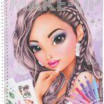 Depesche 10728 – Libro da colorare, TOPModel Create Your Make Up, ca. 24 x 19,5 x 1 cm