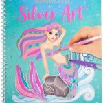 Depesche 11237 Silver Art – Album da colorare Fantasy Model, ca. 22 x 20,5 x 1,5 cm