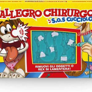 Hasbro Gaming – L'Allegro Chirurgo S.O.S. Cucciolo, Gioco in scatola con suoni