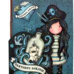 Gorjuss – Set di 2 quaderni cuciti, 140 x 4 x 207 mm