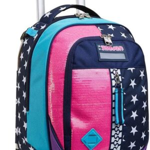 TROLLEY JACK Seven 2 RUOTE – PINKING BLUE