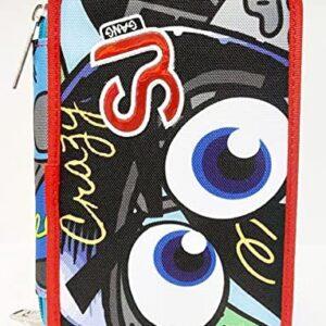 Selezione Cartoleria Varzi dal 1956 Astuccio Scuola Seven SJ Gang Facce SJ Boy 3 Zip Organizzato Completo
