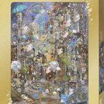 Heye – Puzzle da 1000 pezzi, motivo: Pixie Dust Pearl Rain