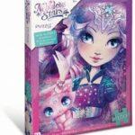 Puzzle Glitter Nebulia e Stella 100 Pezzi