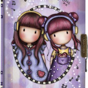 safta Il mio diario Gorjuss The Duet, 128 x 176 x 20 mm, multicolore, M