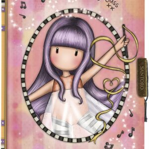 safta Il mio diario Gorjuss Little Dancer, 128 x 176 x 20 mm, multicolore, M