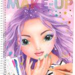 Depesche 10199 Libro da colorare Create Your Make Up TOPMODEL, Multicolore