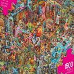 Heye- Puzzle, Colore Argento, 299293