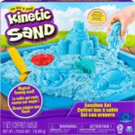 Kinetic Sand- Sandbox & Molds Spin Master Set Sandbox Viola, Colori Assortiti, 20106638